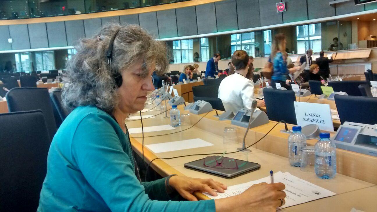 Lidia Senra na Comisión de Agricultura 21062016