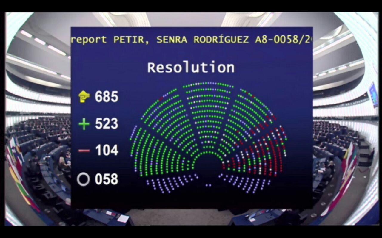 Captura pantalla resultado votacion