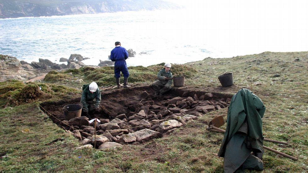 escavacions no castro cocinhadoiro
