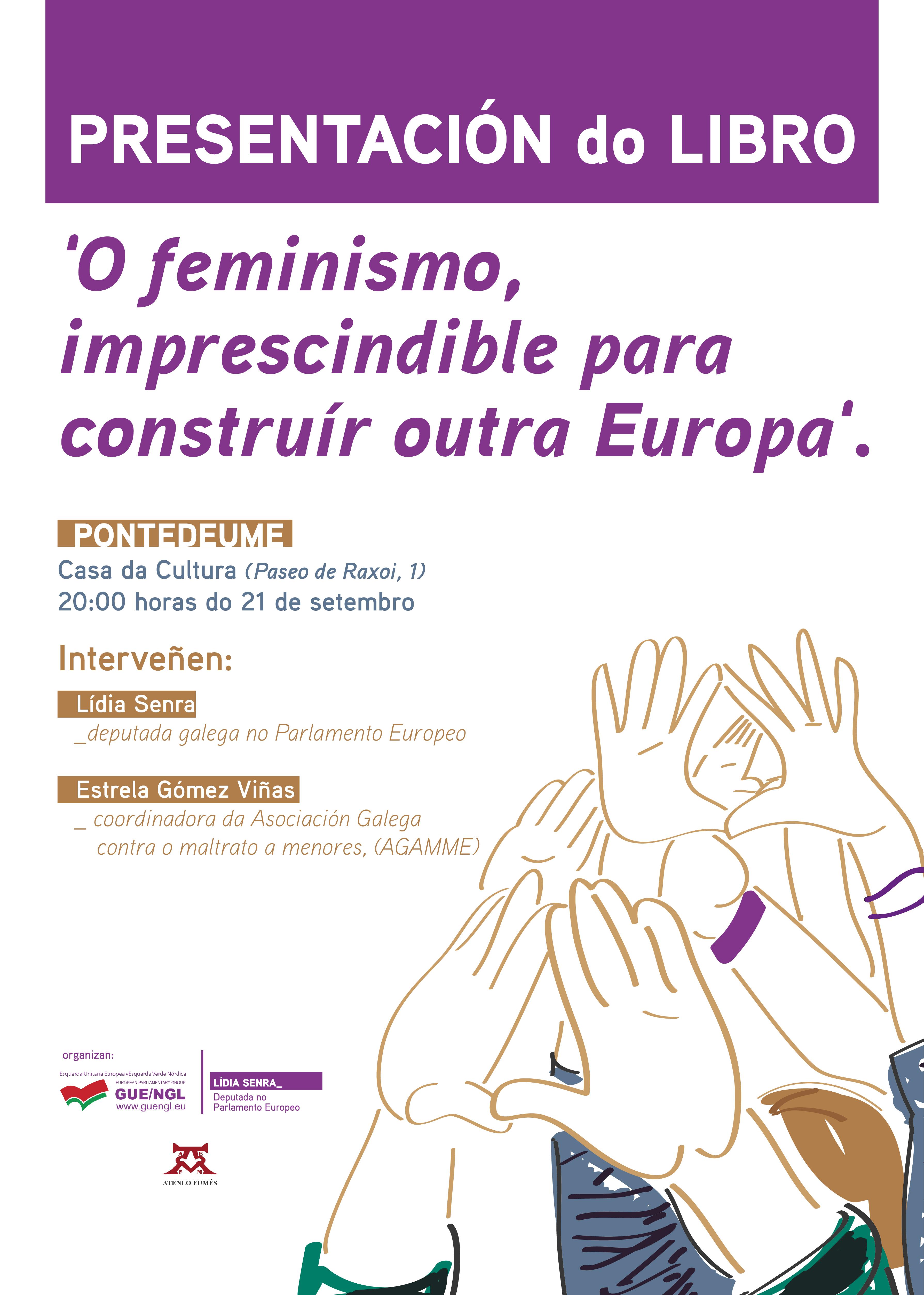 cartazA3_FEMINISMO_presentación libro_Pontedeume