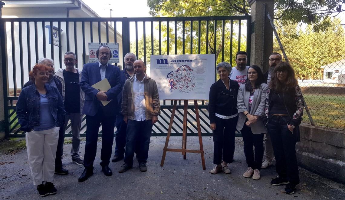 Visita de Lidia Senra a depuradora de Sarria xunto a deputadxs de En Marea_2656x1494