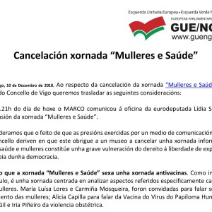 101218-CANCELACIÓN XORNADA MULLERES E SAÚDE-WEB