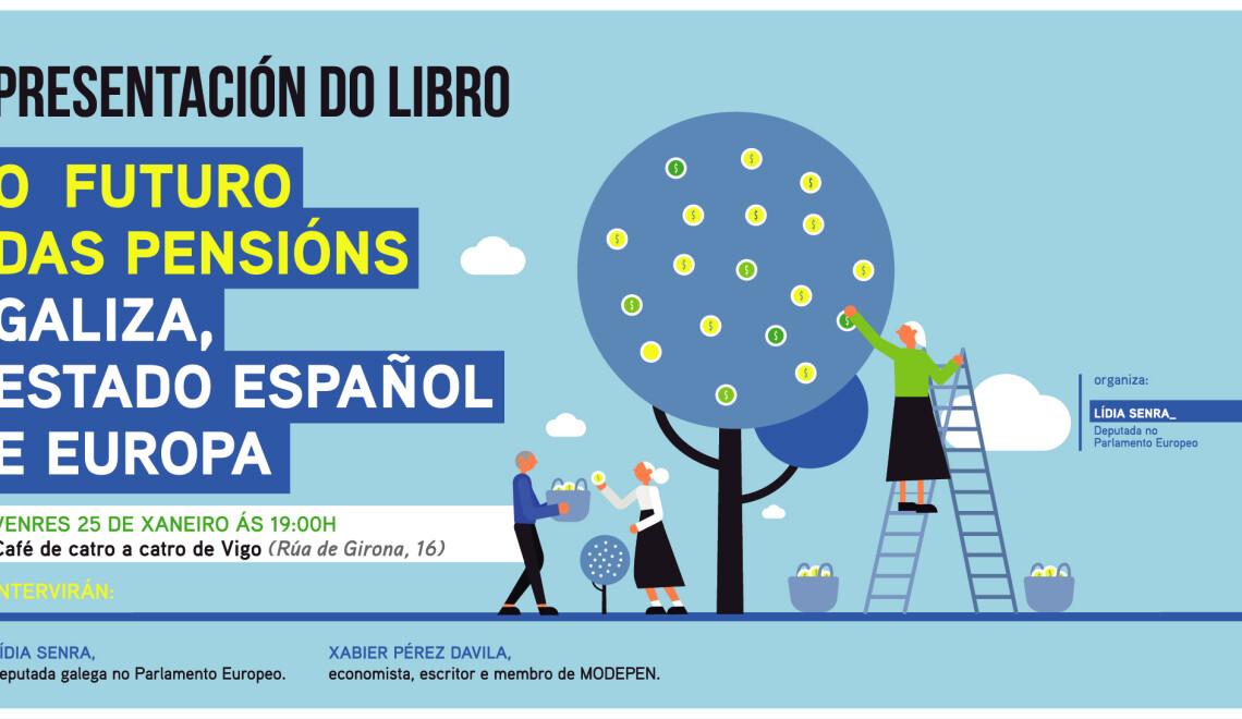 Presentacion libro O futuro das pensions en Vigo
