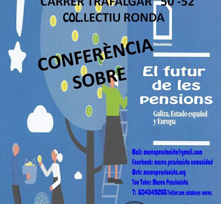 Presentacion libro pensiones Barcelona 220219