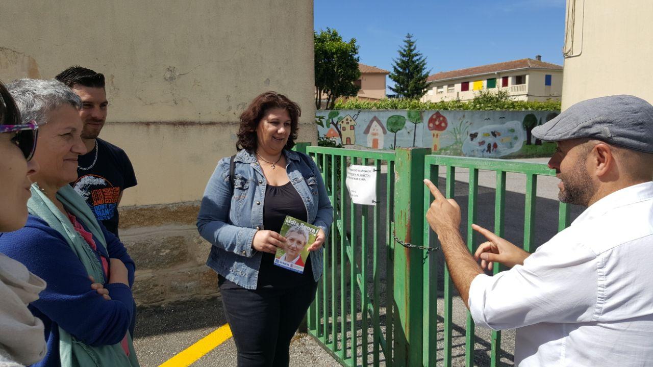 Lidia Senra con Luis VIllares e Mari Caminha en Sanxenxo II