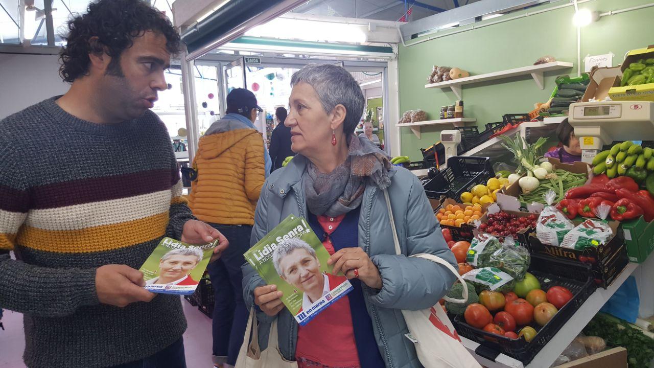 Lidia Senra e Davide Rodriguez en Ourense
