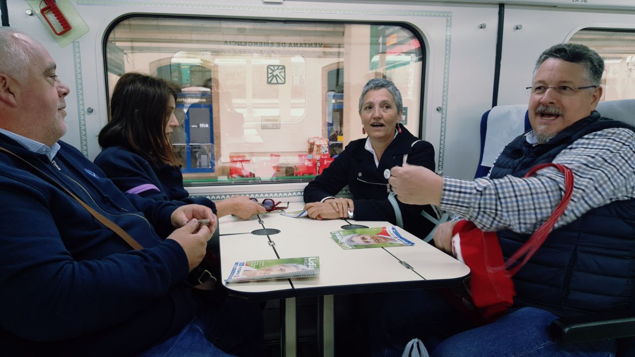 No tren de Monforte a Sarria II